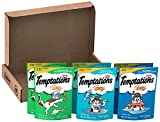 Temptations Classic Cat Treats, Seafood Lovers Variety Pack, (6) 3 Oz. Pouches, Makes A Great Holiday Cat Present Review