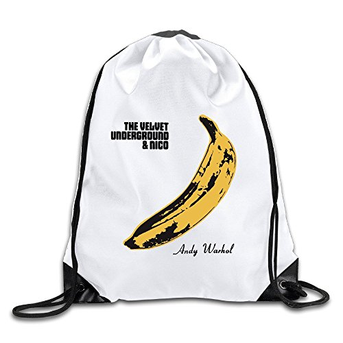 Coreco The Velvet Underground Band Drawstring Backpack Sack - Summer Sale Oakley