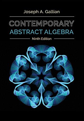 1305657969 - Contemporary Abstract Algebra
