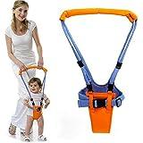Mochila Portabebés para Aprender a Caminar,GZQES,Ajusta los Bebe entre 6-32 meses, Color Amarillo y Azul