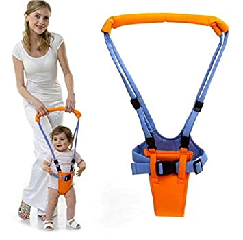 Amazon.com : Madesign Fashion Month Baby Moon Walk Walker Harness Bouncer Jumper Toddler Infant kid Help Learn Teach Assistant Safety : Baby