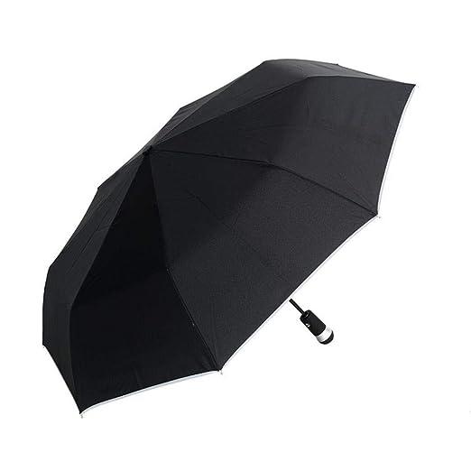 PZXY Paraguas Plegable Personalizado por ciento Regalos de Negocios creativos de Moda led Paraguas Transparente 65 * 103 * 118 cm: Amazon.es: Jardín