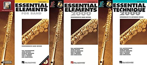 Essential Elements for Band - Flute, Books 1-3, On Line Audio