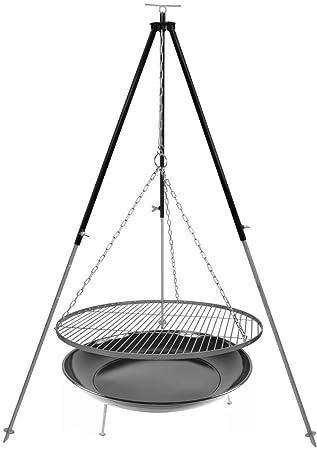 Trípode parrilla (Cadena de acero inoxidable 70 cm 1, 8 m de ...