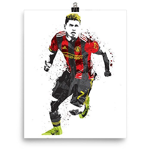 Martinez Ball (Josef Martinez Atlanta United FC Soccer Poster)