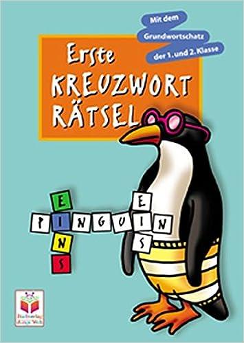 Erste Kreuzworträtsel Motiv Pinguin Amazonde Bücher