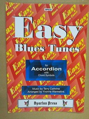 - accordion EASY BLUES TUNES Terry Cathrine