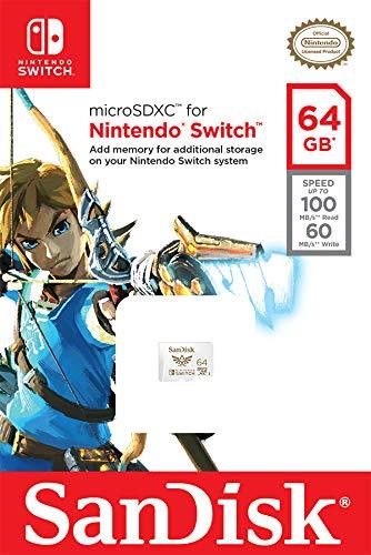 SanDisk 64GB microSDXC UHS-I Memory Card for Nintendo Switch - SDSQXAT-064G-GNCZN 6