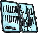Professional Manicure Pedicure Set Travel Size - Manicure Kits for Women - Stainless