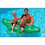 "Best Intex 1 Year Old Outside Toys - Intex Giant Gator Ride-On, 80"" X 45"", Review"
