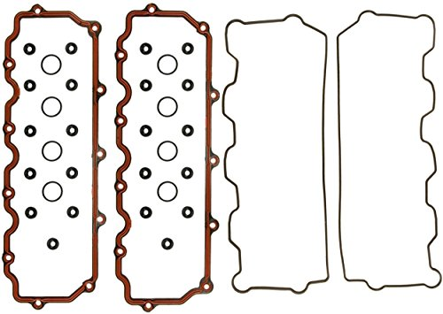 - APDTY 112565 Valve Cover Gasket Complete Upper & Lower Kit Includes Grommet & Breather Seals Fits 6.0L Ford Power Stroke Diesel F250 F350 F450 F550 Super Duty E350 E450 Econoline E Van Excursion