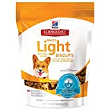 Hill'S Science Diet Light Dog Snacks, Baked Light Dog Biscuits With Real Chicken Small Dog Treats, Healthy Dog Treats, 8 Oz Bag