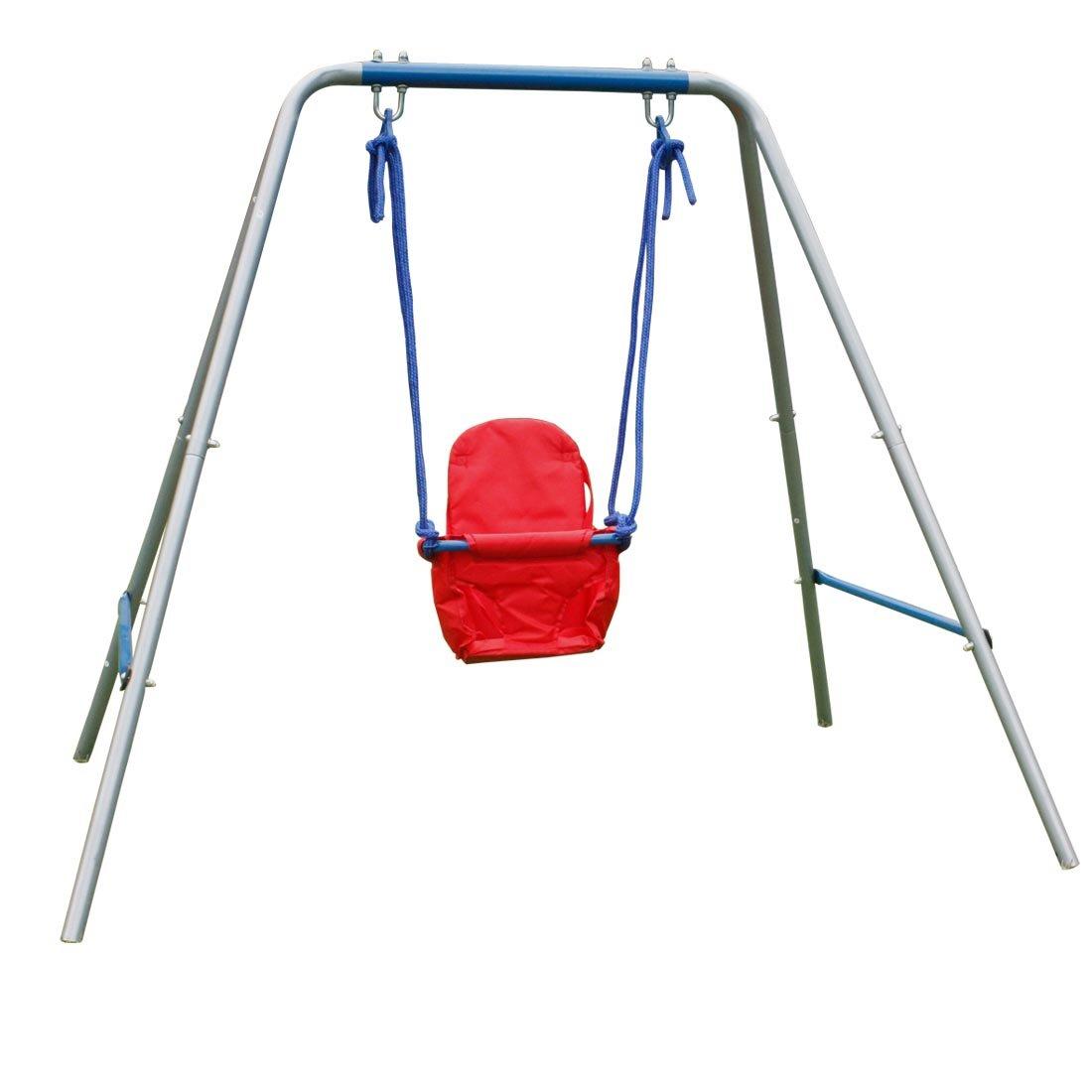 Outdoor baby swings the image kid has it for Baby garden swing amazon