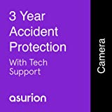 ASURION 3 Year Camera Accident Protection Plan with Tech Support $175-199.99