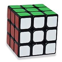 TK Eletronics YJ GuanLong Magic 3x3x3 Speed Cube puzzle,Black