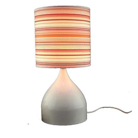 cdet lámpara de mesa noche mesa lámpara Lectura con pañuelo ...