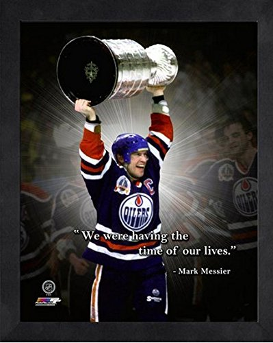 Mark Messier Edmonton Oilers NHL Pro Quotes Photo (Size: 9