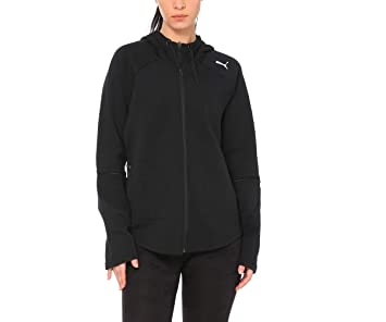 PUMA Damen Evostripe Move Hooded Jacket Sweatjacke: Amazon