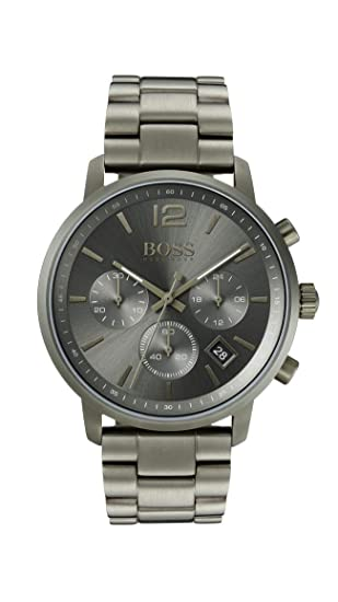 a5418b3f00f Hugo Boss Watch Mens Chronograph Quartz Watch with Stainless Steel Strap  1513610  Amazon.co.uk  Watches