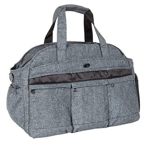 Lug Airbus Weekender Bag, Heather Black
