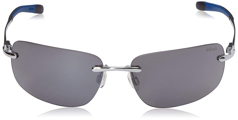 56130753011dd Amazon.com  Revo Outlander RE 1029 02 BR Polarized Rectangular Sunglasses