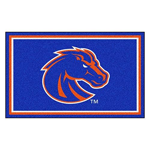 FANMATS NCAA Boise State University Broncos Nylon Face 4X6 Plush Rug