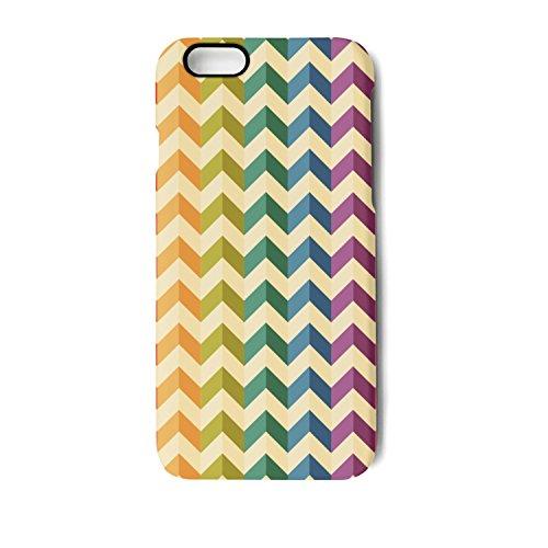 Colorful Herringbone Stripes IPhone 8/8 Plus Case IPhone 7/7 Plus Case IPhone 6/6s/6plus/6s Plus Case Soft Feeling Full Protective Phone Back Case Cover