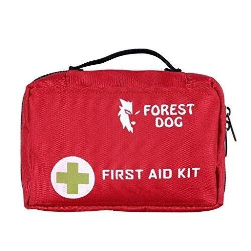Yundxi Empty First Aid Kit Bag for Hiking, Backpacking, Camping, Travel, Car & Cycling