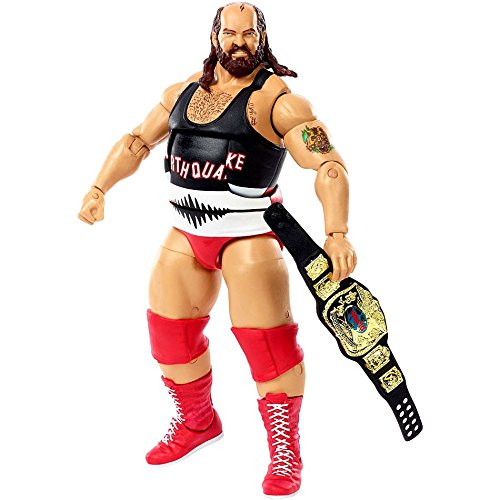 WWE Then Now Forever Earthquake 7 Inches Exclusive Action Figure Elite Collection The Natural Disasters