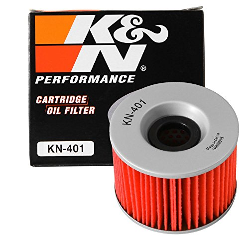 KN-401 K&N Performance Oil Filter; POWERSPORTS CARTRIDGE (Powersports Oil Filters):