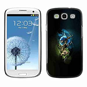 Planetar® ( Mystical Tree ) Fundas Cover Cubre Hard Case Cover Samsung Galaxy S3 III / i9300 i717
