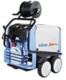 KranzleUSA Therm 1165  Hot Water Electric Industrial Pressure Washer with Digital Temp Control, Auto On-Off and 65' Wire Braided Hose on Hose Reel, 2400 PSI, 5.0 GPM, 220V, 25A, Three Phase