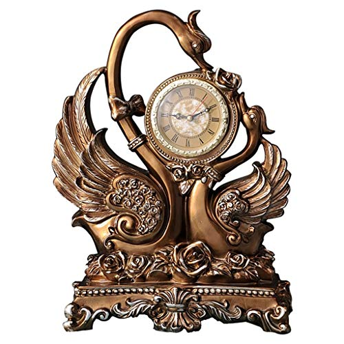 CLHXZE Retro Mantel/Resina Europea Personalidad Simple Reloj de ...