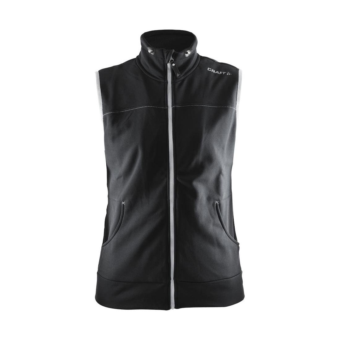 Craft Women's Leisure Casual Training Sportswear Vest with Pockets, Galactic/Black, Small by Craft (Image #1)