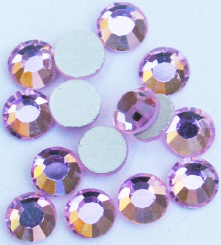 Rose Seche - Zink Color Crystal Rhinestone Ss10 Light Rose 20Pc Cell Phone Embellishment