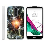 Case for LG K7 , [ Flex Force ] Flexible Glove like Protection Unique Galaxy Collection for Tribute 5 by Miniturtle® - Galaxy around Sun