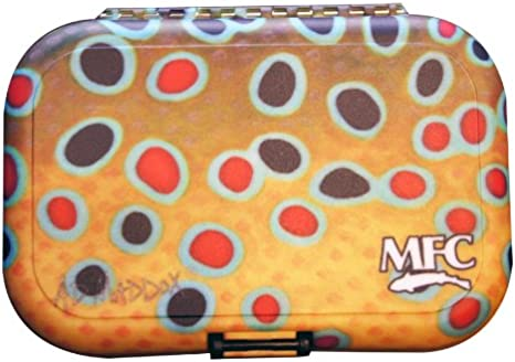 MONTANA FLY Company MFC American Pride Poly Fly Box Avec Fente Mousse