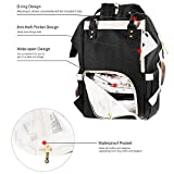 MUIFA Diaper Bag Backpack, Multi-Function
