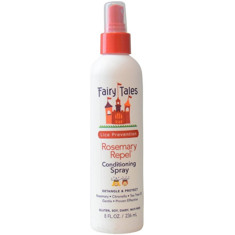 Fairy Tales Rosemary Repel Lice Preventing Conditioning Spray, 8 oz (Pack of 4) by Fairy Tales