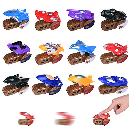 12PCs Easter Party Favor for Kids, Press and Go Toy Cars for Easter Egg Stuffers,Goody Bag Stuffers, Easter Party Supplies, Classroom Prizes Toy, Small Toys for Easter Eggs, Kids Easter Gifts -