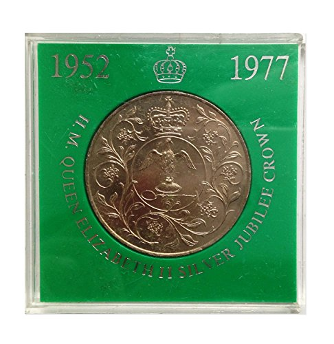 Stampbank Coins collectors - Boxed Queen Elizabeth II Silver Jubilee Commemorative Crown 1977