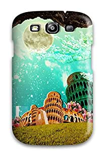 For Galaxy S3 Protector Case Artistic Abstract Artistic Phone Cover