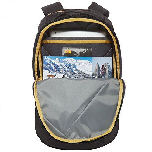 The North Face Electra Backpack Tnf Black Heather 24k Gold