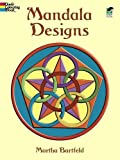 Dover Publications Book, Mandala Designs (Dover Design Coloring Books)