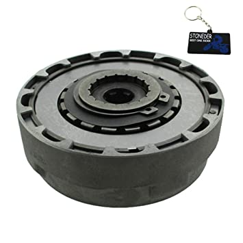 STONEDER - Conjunto de Embrague semiautomático (17T) para 50 90 125 CC Pit Dirt Bike ATV Quad: Amazon.es: Coche y moto
