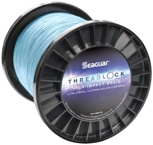 Seaguar Threadlock Braided Fishing Line, Blue, 60-Pound/2...