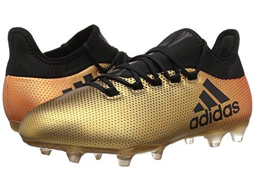 キュービック逸話転倒(アディダス) adidas メンズサッカーシューズ?靴 X 17.2 FG Tactile Gold/Black/Solar Red 10 (28cm) D - Medium