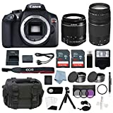 Canon EOS Rebel T6 Bundle With EF-S 18-55mm f/3.5-5.6 IS II & EF 75-300mm f/4-5.6 III Lens + Advanced Accessory Kit – Including EVERYTHING You Need To Get Started Review