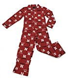 OuterStuff Outerstufff Boy's Youth Nebraska Huskers Pajamas