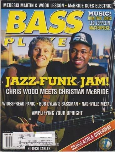 Bass Mcbride - Bass Player Magazine (October 1998) (Jazz-Funk Jam! Chris Wood meets Christian McBride)